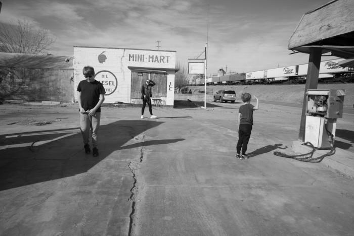 Mohawk Gas Station, Rte 66, California January, 2016